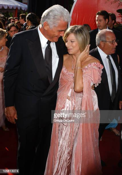 James Brolin and Barbra Streisand during The 56th Annual Primetime Emmy Awards - Arrivals at The Shrine Auditorium in Los Angeles, California, United...