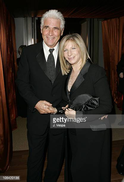 James Brolin and Barbra Streisand during The 77th Annual Academy Awards - Governors Ball at Kodak Theatre in Hollywood, California, United States.