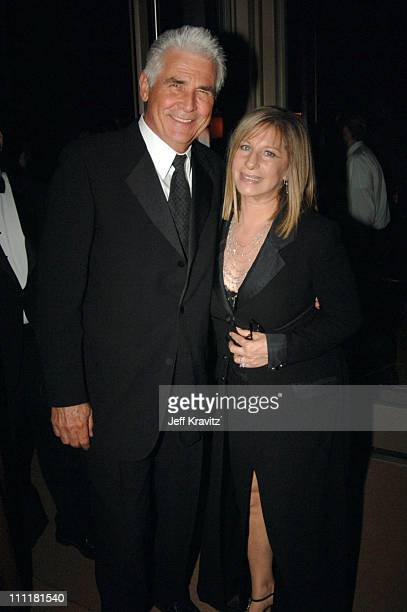James Brolin and Barbra Streisand during The 77th Annual Academy Awards - Governors Ball at Kodak Theatre in Los Angeles, California, United States.