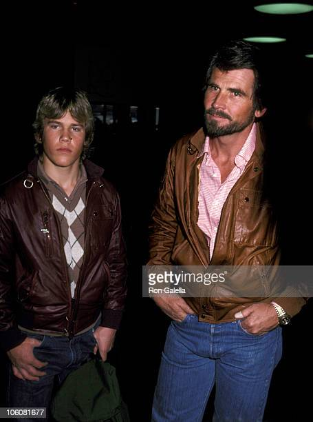 James Brolin and son Josh Brolin during James Brolin and Son Josh at Los Angeles International Airport March 1 1983 at Los Angeles International...