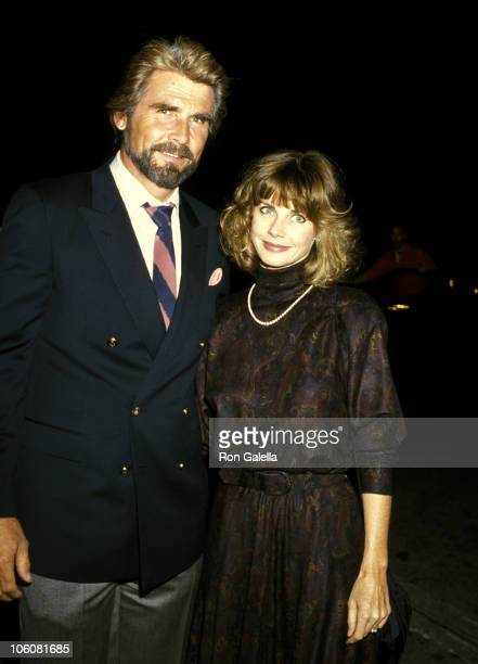 James Brolin and Wife Jan Smithers during Celebrity Sightings at Spago October 8 1986 at Spago's Restaurant in Hollywood California United States