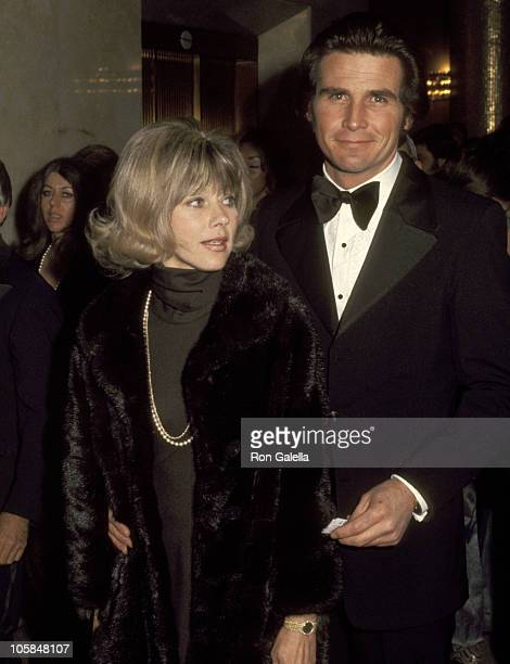 James Brolin and Wife Jane Cameron Agee during 45th Annual Academy Awards in Los Angeles California United States