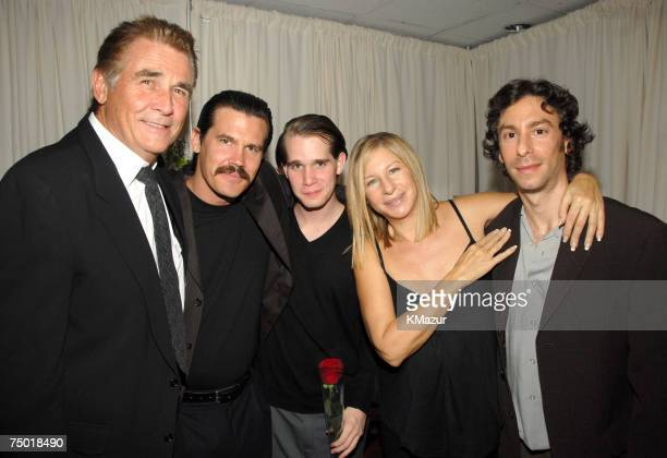 James Brolin Josh Brolin Trevor Brolin Barbra Streisand and her son Jason Gould