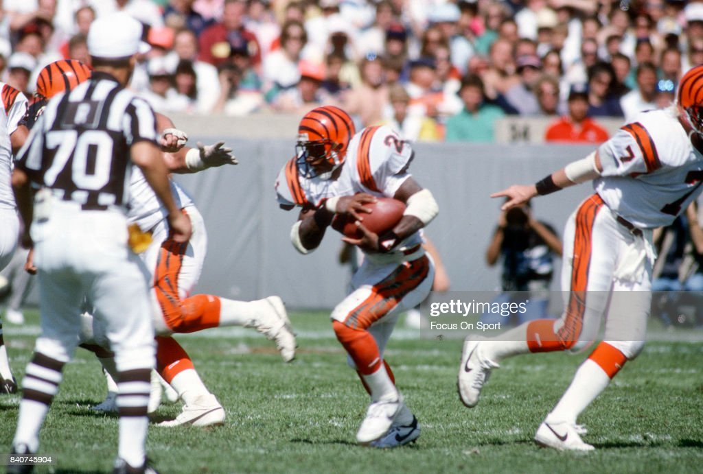 James Brooks Of The Cincinnati Bengals Carries The Ball During An Nfl News Photo Getty Images