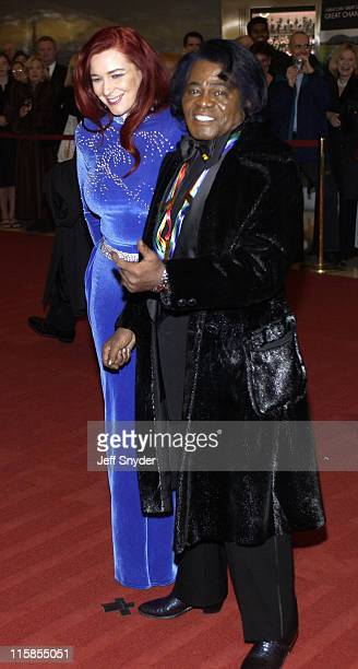 James Brown and wife Tomi Rae Hynie during 26th Annual Kennedy Center Honors at John F Kennedy Center for the Performing Arts in Washington DC United...