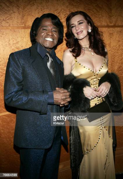 James Brown and wife Tomi Rae Hynie