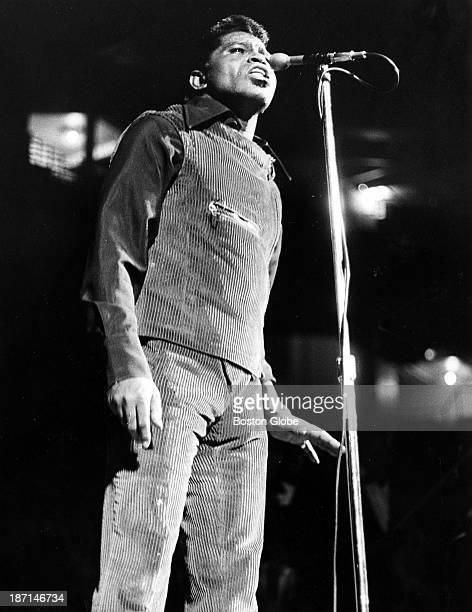 James Brown at Boston Garden