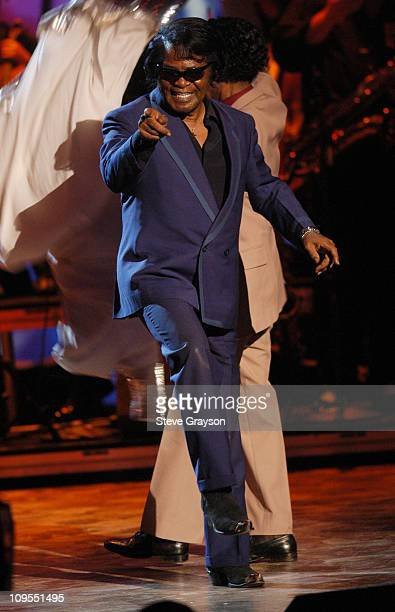 James Brown during The 3rd Annual BET Awards Rehearsals Day Two at The Kodak Theater in Hollywood California United States