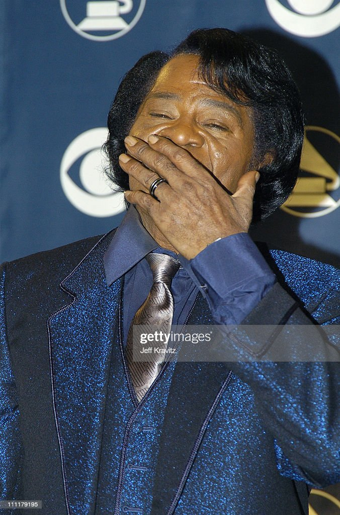 James Brown during The 47th Annual GRAMMY Awards - Press Room at Staples Center in Los Angeles, California, United States.