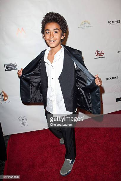 James Brown II arrives at the 21st annual Los Angeles Music Awards at Avalon on November 10 2011 in Hollywood California