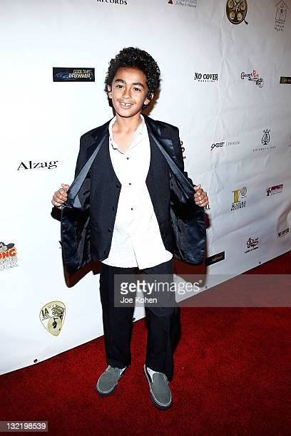 James Brown II attends the 21st Annual Los Angeles Music Awards at Avalon on November 10 2011 in Hollywood California