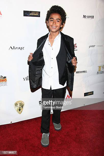 James Brown II attends the 21st Annual Los Angeles Music Awards held at Avalon on November 10 2011 in Hollywood California
