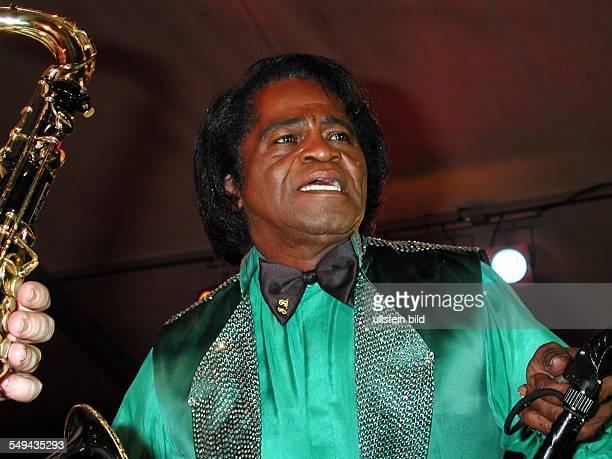 James Brown in concert Germany