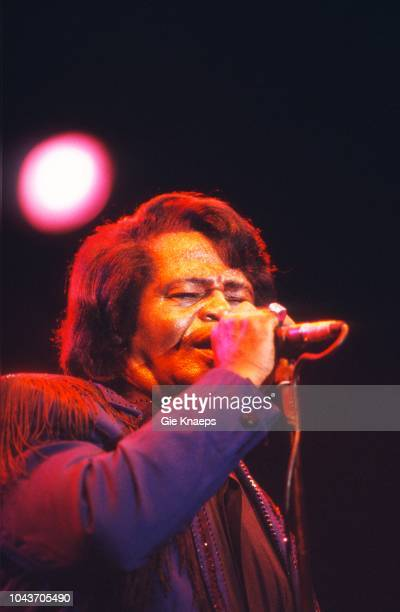 James Brown, Marktrock Festival, Leuven, Belgium, 15th August 2001.