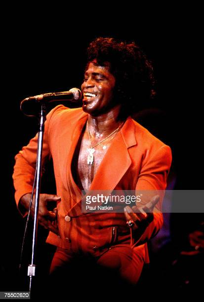 James Brown on 8/15/80 in ChicagoIl in Various Locations