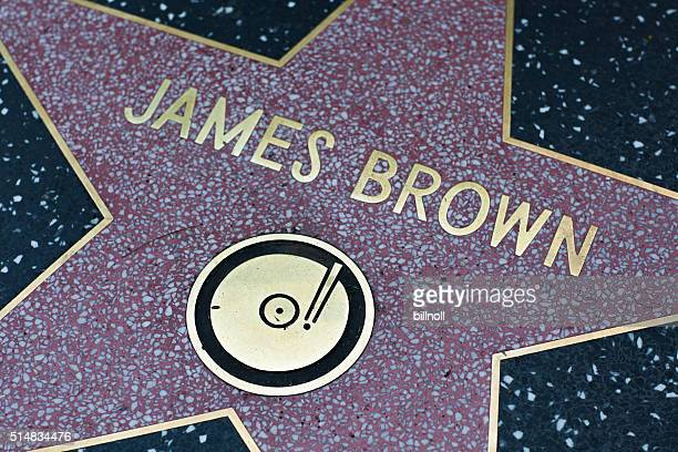 James Brown star on the Hollywood Walk of Fame