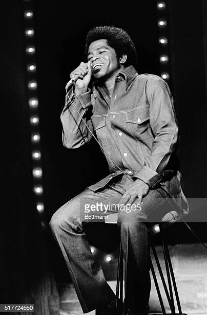James Brown the Godfather of Soul in an appearance on The Dick Cavett Show