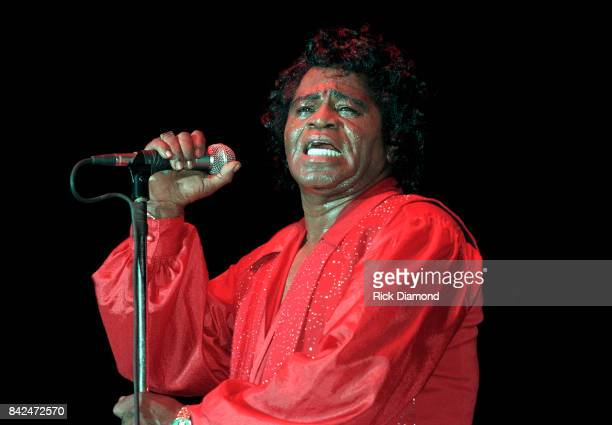 James Brown The Godfather of Soul performs at Lakewood Amphitheater in Atlanta Georgia 2005
