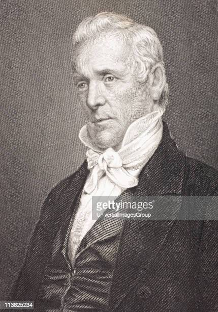 James Buchanan 1791 to 1868 15th President of the United StatesFrom the book Gallery of Historical Portraits published c1880