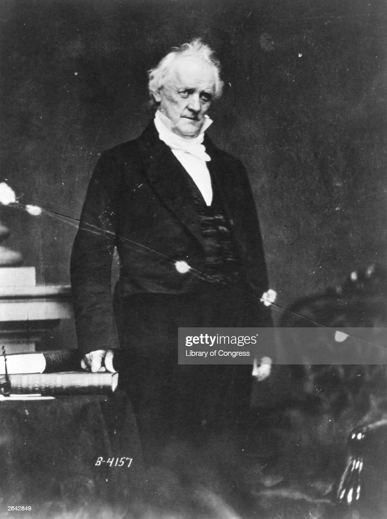 Image result for James buchanan  getty images