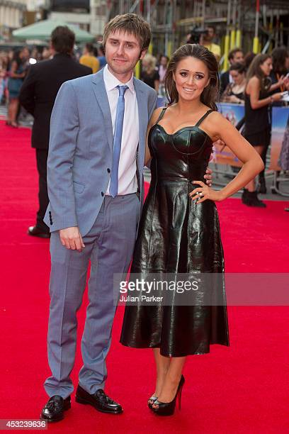 James Buckley and Clair Meek attends the World Premiere of The Inbetweeners 2 at Vue West End on August 5 2014 in London England