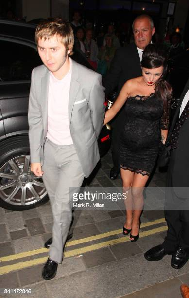 James Buckley arrives at the after party for 'The Inbetweeners' film premiere at Aqua Restaurant in London