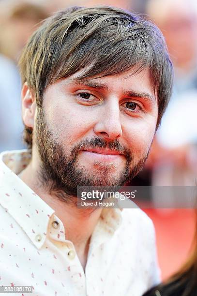 James Buckley arrives for the World premiere of 'David Brent Life on the Road' at Odeon Leicester Square on August 10 2016 in London England