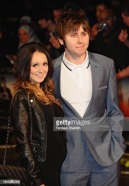 James Buckley attends the UK Film Premiere of 'Trance' at Odeon West End on March 19 2013 in London England