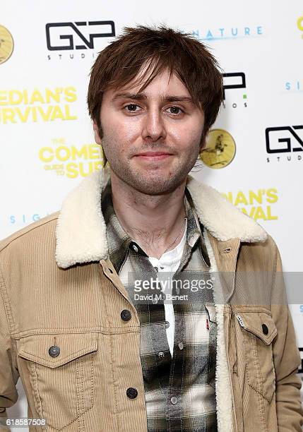 James Buckley attends the UK Premiere of 'The Comedian's Guide To Survival' at Vue Piccadilly on October 27 2016 in London England