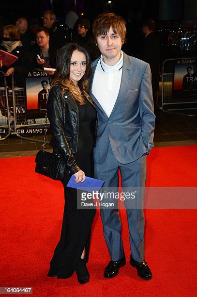 James Buckley attends the UK premiere of 'Trance' at The Odeon West End on March 19 2013 in London England
