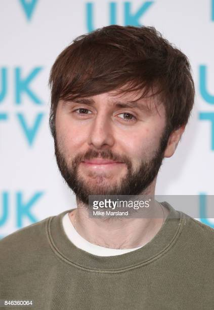James Buckley attends the UKTV Live 2017 photocall at Claridges Hotel on September 13 2017 in London England Broadcaster announces it's programs for...