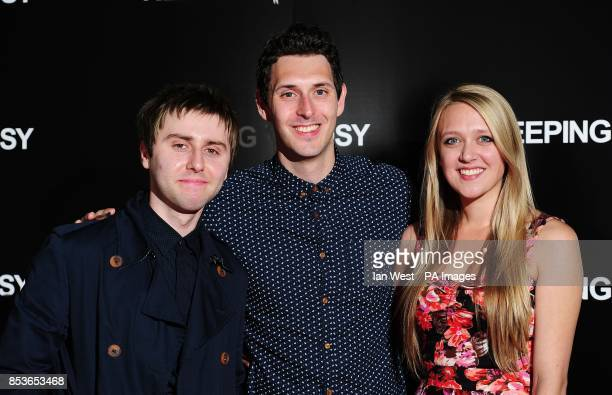 James Buckley Blake Harrison and Emily Head attending the Keeping Rosy premiere at the Hackney Picturehouse east London