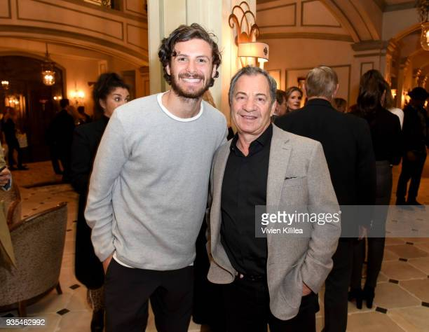 James Burnett and Alec Gores attend the 'Box of Butterflies' Book Party on March 20 2018 in Beverly Hills California