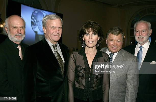 James Burrows Tom Brokaw Lucie Arnaz William Shatner and Leonard Goldberg