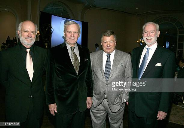 James Burrows Tom Brokaw William Shatner and Leonard Goldberg