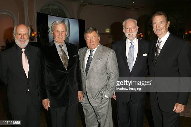 James Burrows Tom Brokaw William Shatner Leonard Goldberg and Dick Askin
