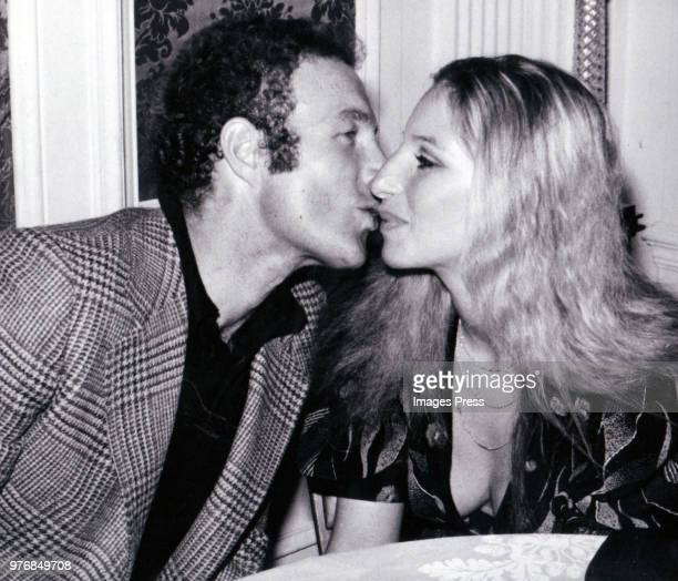 James Caan and Barbara Streisand circa 1981 in New York