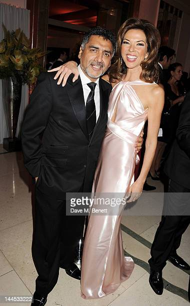 James Caan and Heather Kerzner attend the Marie Curie Cancer Fundraiser hosted by Heather Kerzner at Claridge's Hotel on May 15 2012 in London England