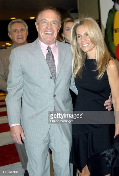 James Caan and Linda Caan during 'Elf' New York Premiere at Loews Astor Plaza in New York City New York United States