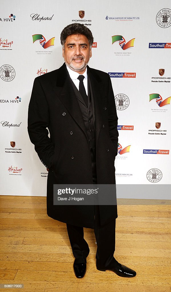 James Caan attends a reception and dinner for supporters of The British Asian Trust at Natural History Museum on February 2, 2016 in London, England.