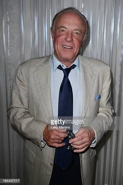 James Caan attends the 27th Annual Fort Lauderdale International Film Festival Opening Night at Gulfstream Park on October 19 2012 in Hallandale...