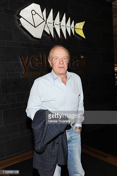 James Caan attends Yellowtail Restaurant at the Bellagio Las Vegas on March 26 2010 in Las Vegas Nevada