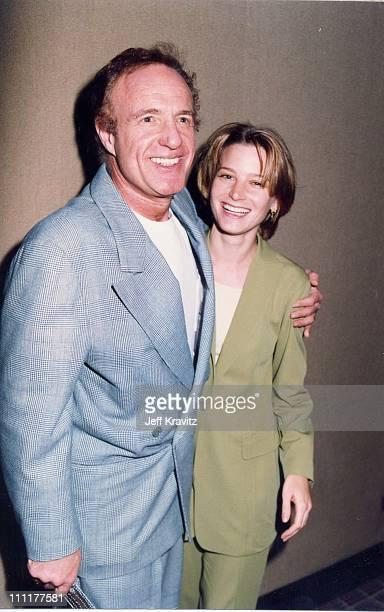 James Caan Bridget Fonda during 1992 ShoWest in Las Vegas Nevada United States