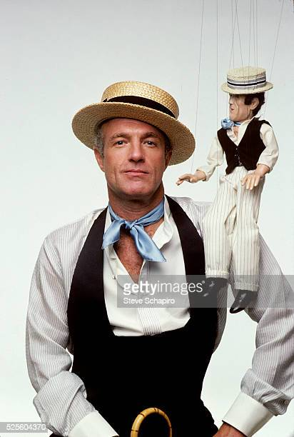James Caan in character for Kiss Me Goodbye