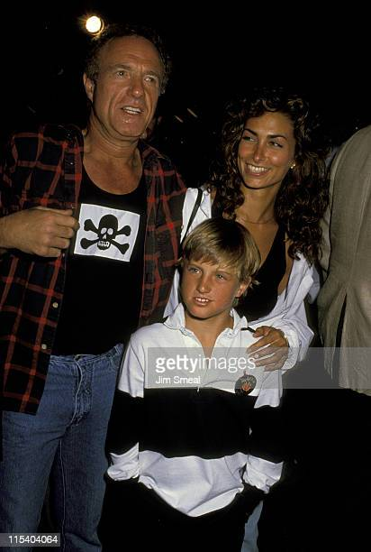 James Caan Scott Caan and Ingrid Hayjek during Gregg Gorman's Birthday Party June 29 1989 at Tramp's in Beverly Hills California United States
