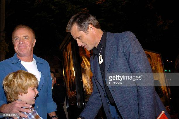 James Caan son and Viggo Mortensen during The Lord Of The RingsThe Return Of The King Los Angeles Premiere Red Carpet at Mann Village Theatre in...