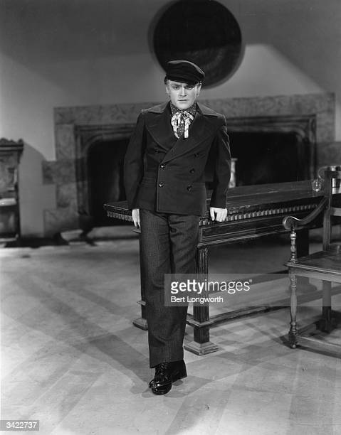 James Cagney wears the costume of a sailor of 1854 in the film 'The Frisco Kid' a melodrama with the main star in love It was directed by Lloyd Bacon...