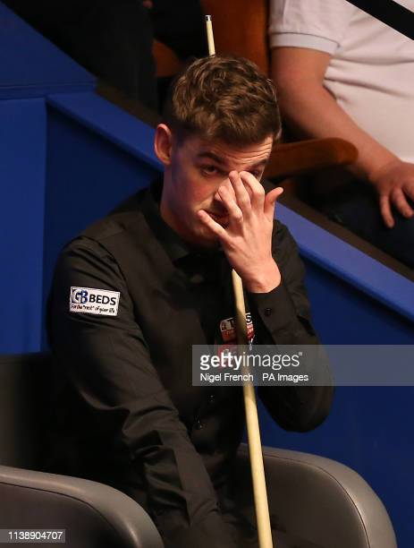 James Cahill during day four of the 2019 Betfred World Championship at The Crucible Sheffield