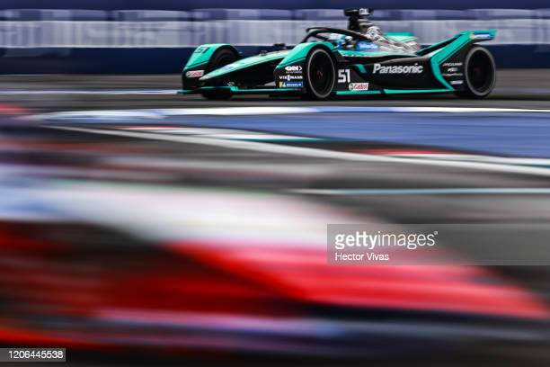 James Calado of Great Britain drives the Panasonic Jaguar Racing during the EPrix of Mexico City as part of the ABB FIA Formula E Championship...