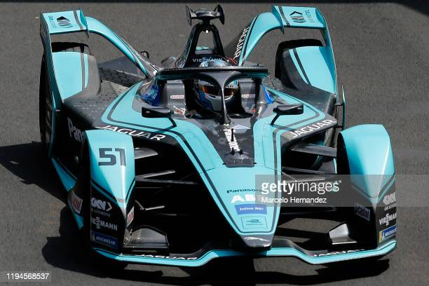 James Calado of United Kingdom for Panasonic Jaguar Racing team drives during the EPrix Antofagasta Minerals as part the third round of the ABB FIA...
